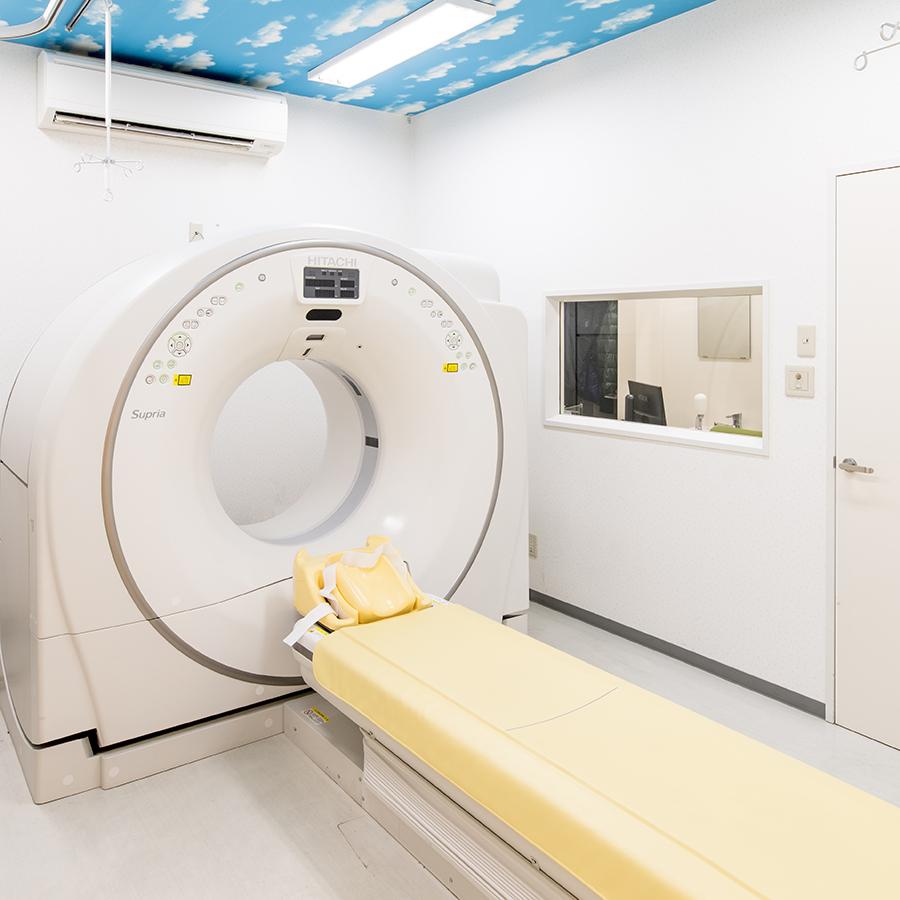 CTスキャナの画像